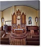 Inside St Olaf Lutheran Church Canvas Print