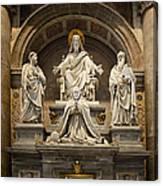Inside St Peters Basiclica - Vatican Rome Canvas Print