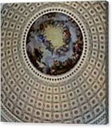 Inside The Capitol Dome Canvas Print