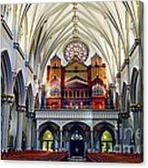 Inside The Cathedral  Canvas Print