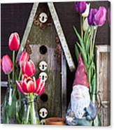 Inside The Garden Shed Canvas Print