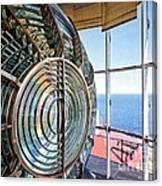 Inside The Lighthouse Canvas Print