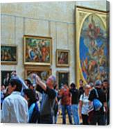 Inside The Louvre 1 Canvas Print