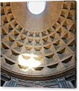 Inside The Pantheon - Rome - Italy Canvas Print
