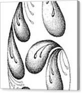 Inside The Rain Drop Canvas Print