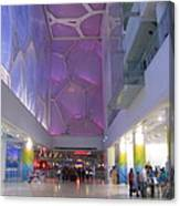 Inside The Water Cube Canvas Print