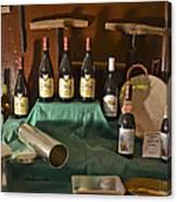 Inside The Wine Cellar Canvas Print