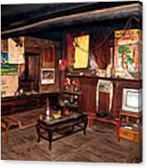 Inside Tibetan House Canvas Print