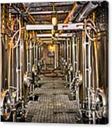 Inside Winery Canvas Print