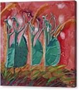 Inspired Dance Canvas Print