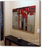 Installation Photo Op Canvas Print