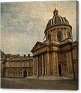 Institut De France  Canvas Print