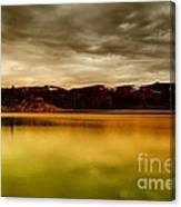 Intenisty In The Clouds  Canvas Print