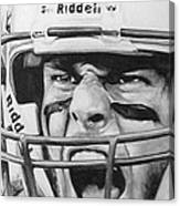 Intensity Tom Brady Canvas Print