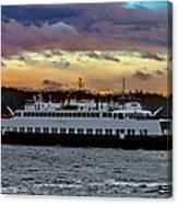 Inter-island Ferry Canvas Print