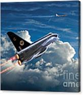 Interceptor Canvas Print