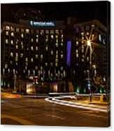Intercontinental Hotel Canvas Print