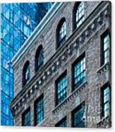 Intercontinental New And Old Canvas Print