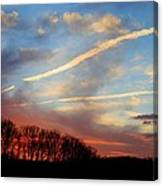 Interesting Sunset Canvas Print