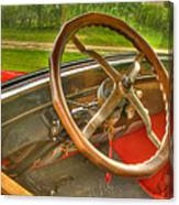 Interior Of A 1926 Model T Ford Canvas Print