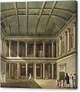 Interior Of Concert Room, From Bath Canvas Print