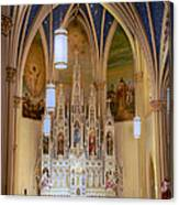 Interior Of St. Mary's Church Canvas Print