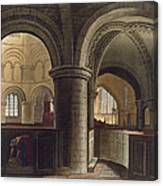 Interior Of The Church Of The Holy Canvas Print