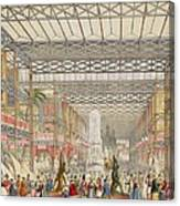 Interior Of The Crystal Palace, Pub Canvas Print
