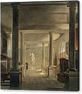 Interior Of The Law School, Cambridge Canvas Print