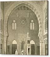 Interior Of The Mosque Of Qaitbay, Cairo Canvas Print
