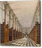 Interior Of Trinity College Library Canvas Print
