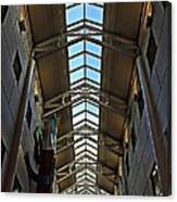 Interior Skylight Canvas Print
