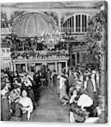 Interior View Of The Moulin De  La Canvas Print