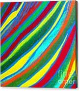 Interior Wave Olympic Canvas Print