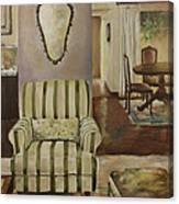 Interior With Chair Canvas Print