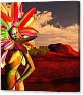 internal beauty-Spike Canvas Print