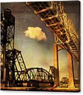 International Bridge To Canada Canvas Print