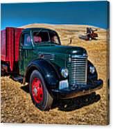 International Farm Truck Canvas Print