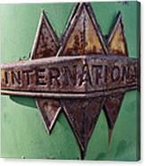 International Harvester Insignia Canvas Print