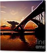 International Peace Bridge Canvas Print