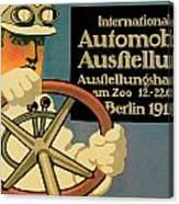 Internationale Automobile Ausftellung Canvas Print