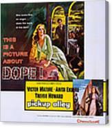 Interpol, Aka Pickup Alley, Us Poster Canvas Print