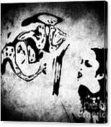 Interrogation Canvas Print