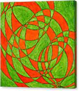 Intersection, No. 1 Canvas Print