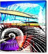 Interstate 10- Cushing St Overpass- Rectangle Remix Canvas Print