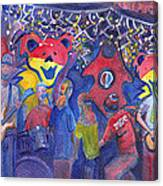 Interstate Stash Express At Oskar Blues In Lyons Co Canvas Print