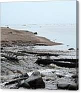 Into Lake Superior Canvas Print