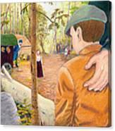 Into The Hidden Camp Canvas Print