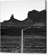 Into The Valley Of Monuments Canvas Print