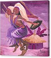 Intore Dance From Rwanda Canvas Print